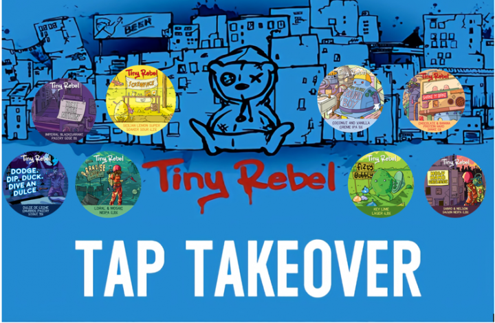 13th February – Tiny Rebel 8th Birthday Tap Takeover